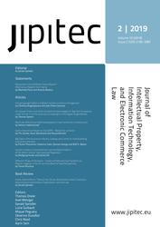 JIPITEC 10 (2) 2019