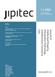 JIPITEC 11 (1) 2020
