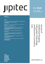 JIPITEC 11 (3) 2020