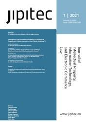 JIPITEC 12 (1) 2021