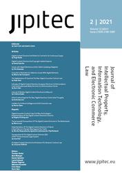 JIPITEC 12 (2) 2021