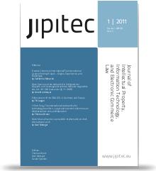 JIPITEC 3 (3) 2012