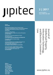 JIPITEC 8 (2) 2017