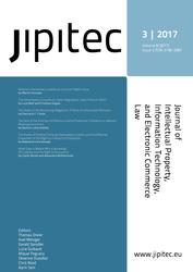 JIPITEC 8 (3) 2017