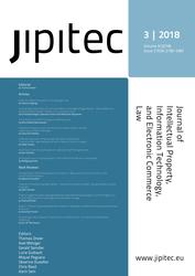 JIPITEC 9 (3) 2018