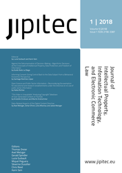 JIPITEC 9 (1) 2018